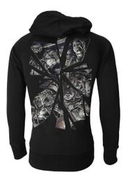 Horror Mirror Cotton Zip Hood