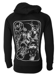 Monster Mash Up Cotton Zip Hood