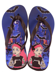 Tattoo Princess Flip Flops