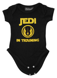 Jedi In Training Baby Grow