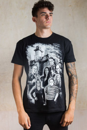 Adams Family Mens T Shirt