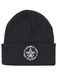 Church Of Satan Embroidered Beanie Hat
