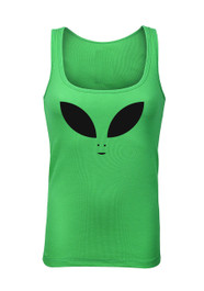 Alien Eyes Green Beater Vest