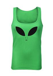 Alien Eyes Green Beater Vest