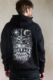 Panther Fleece Pullover Hood