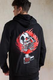 Zippo Skull Fleece Zip Hood