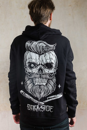 Bearded Skull Fleece Zip Hood