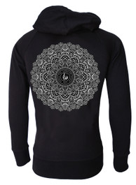 Mandala Cotton Zip Hood