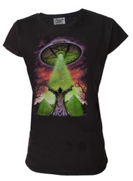 Darkside UFO Womens T Shirt