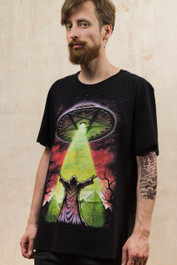 Darkside UFO Mens T Shirt