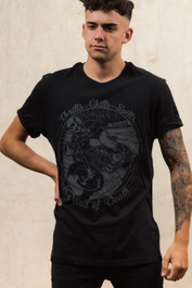 Wall Of Death Mens T Shirt