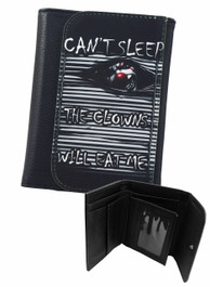 Cant Sleep The Clowns Will Eat Me Mens Wallet