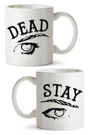 Stay Dead White Mug