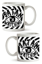 Satan Is Watching Mug