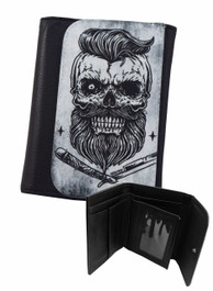 Bearded Skull Genuine Darkside Wallet
