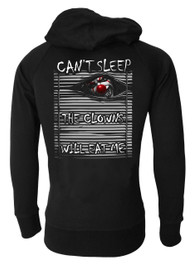 Cant Sleep The Clowns Will Eat Me Genuine Darkside Cotton Zip Hood
