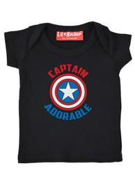 Captain Adorable Baby T Shirt