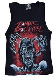 Zombie Apocalypse V Neck Vest