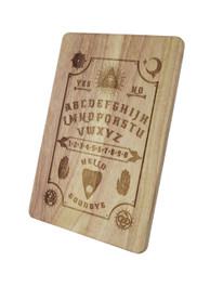 Ouija Board Engraved Wooden Chopping Serving Board
