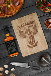 Wing Wheel Engraved Wooden Chopping Serving Board