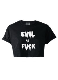 Evil As F ck Crop Top