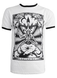 Baphomet Mens Ringer T Shirt