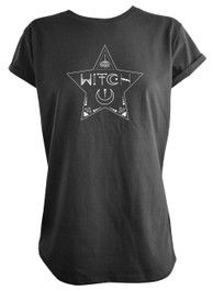 Witchstar Womens Scoop Neck T Shirt