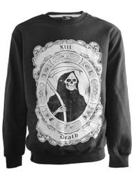 Smoking Reaper Black Sweatshirt