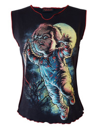 Chucky Womens V Neck Vest