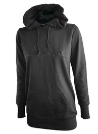 Darkside Gothic Logo Womens Skinny Fit Pullover Hood