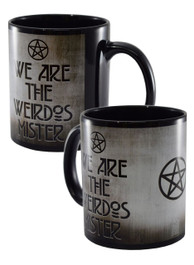 We Are The Weirdos Mister Black Mug