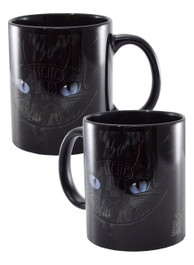 Hocus Pocus Witch Cat Black Mug