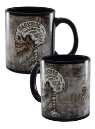 Memento Bearded Skull Black Mug
