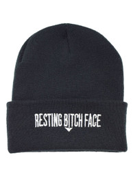 Resting Bitchface Arrow Beanie Hat