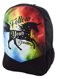 Follow Your Dreams Unicorn Backpack