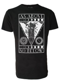 As Above So Below Mens T Shirt