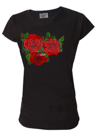Darkside Roses Womens T Shirt