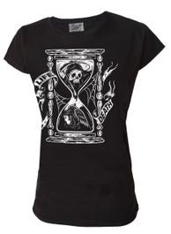 Sand Timer Womens T Shirt