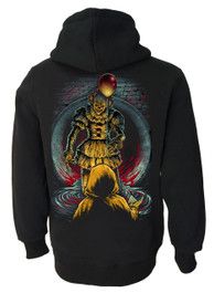 It Clown Fleece Zip Hood