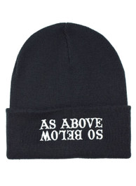 As Above So Below Beanie Hat