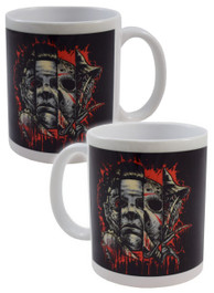 Faces Of Horror Mug