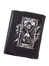Sand Timer Life Or Death Wallet