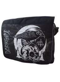 Skull Crow Messenger Bag