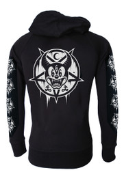 Mickey 666 Cotton Zip Hood
