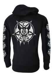 Mickey 666 Cotton Zip Hood