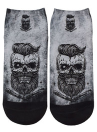 Bearded Skull Short Socks
