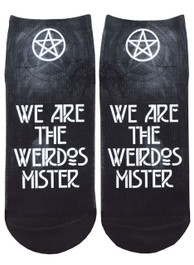 We Are The Weirdos Mister Short Socks