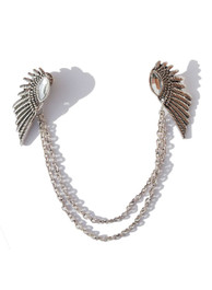 Diamente Wings Collar Chain