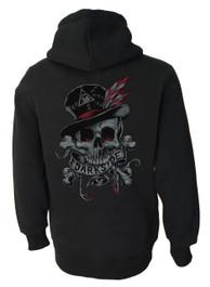 Voodoo Skull Pullover Hood