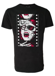 Horror Film Reel Mens T Shirt